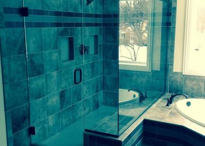 shower glass installation McHenry Illinois