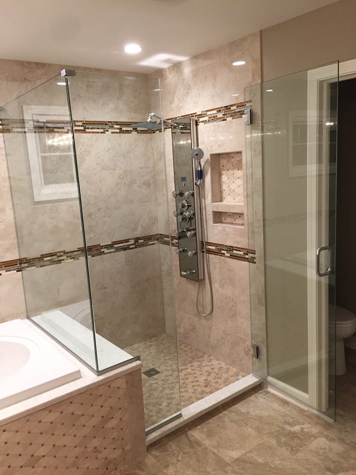 Custom Shower Glass | FINER CONCEPTS