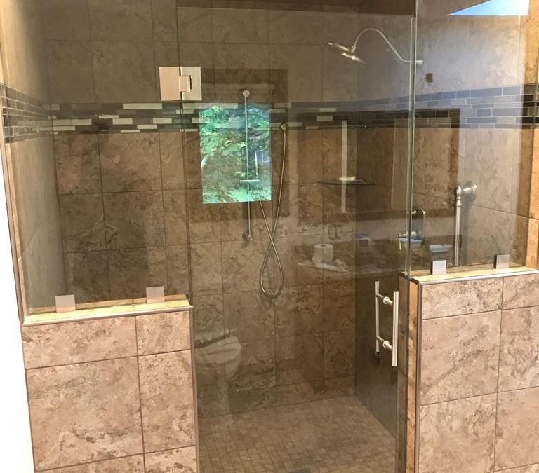 Custom Shower Glass Algonquin